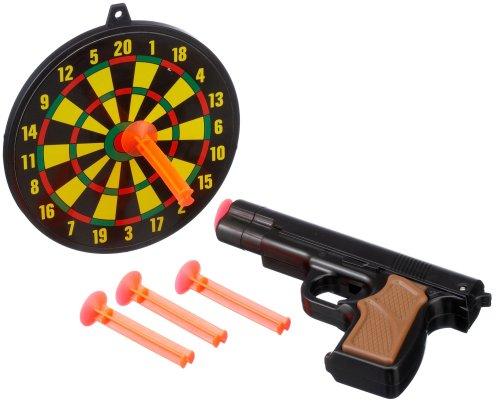 TROLL 10014 - Dartscheibe mit Pistole