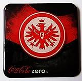 Coca Cola Zero - Fußballvereine - Eintracht Frankfurt - Kühlschrankmagnet 6 x 6 cm