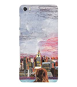 EPICCASE City View Mobile Back Case Cover For Huawei Honor 6 Plus (Designer Case)