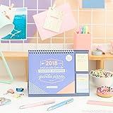 Mr. Wonderful WOA08663ES - Calendario de sobremesa con diseño 2018 Será un año lleno