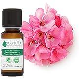 Huile Essentielle de Géranium Rosat - 100% Pure et Naturelle - HEBBD - Vertus Dermatologiques - Diluer dans Huile Végétale -