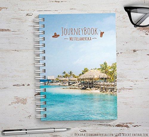 Reisetagebuch Mittelamerika zum selberschreiben / als Abschiedsgeschenk