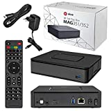 Infomir MAG 352 Premium IPTV/OTT Set-Top-Box, BCM75839, Linux 3.3, OpenGL ES 2.0, HEVC, 512 MB Flash/1 GB RAM