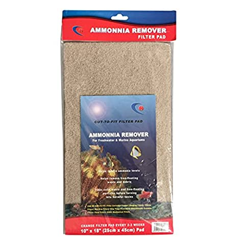 Ammonia Remover Filter Foam Sponge Sheet for Aquarium / Fish Tank or Pond