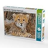 Geht's Noch süßer? - Bezauberndes Gepardenjunges 1000 Teile Puzzle Quer
