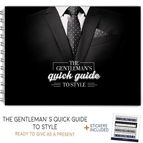 Le F. Hinds Guide rapide au style–remarquable et d'un cadeau original pour homme–Le meilleur Cadeau pour lui pour découvrir Costumes, cravates, stabilité, Chaussures, boissons, et bien plus encore. Great Père Jour de cadeau.