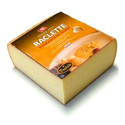Raclette cheese with Garlic from Switzerland Raclette cheese 400g Test