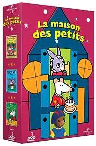 Coffret la maison des petits 3 DVD : Petit Ours brun fait du roller / trotro dessine / Mimi joyeux anniversaire