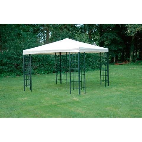 Universal tetto di ricambio per metallo Gazebo 3x 3Ecru qualità extra 230g/m2impermeabile
