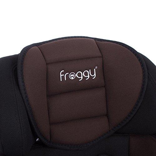 Froggy BCS01 Autokindersitz Gruppe I/II/III 9-36 kg 1-12 Jahre Braun -