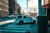 ZZXSY Puzzle Adulti 1000 Pezzi Auto della Polizia Bianca può Essere Usato Come Regalo di Natale