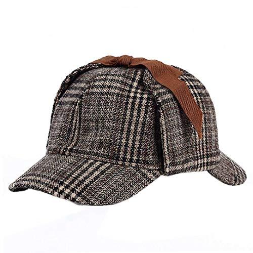 Sherlock Holmes Detective Hat Cosplay Zubehör Berets Männer Frauen Zwei Brims Beret - Sherlock Holmes Kostüm Frauen