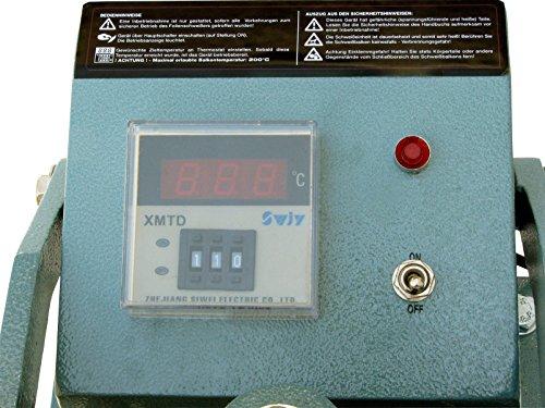 Rotek dauerbeheiztes Folienschweißgerät mit Fußbetätigung, PM-FSD-400-STEP - 3