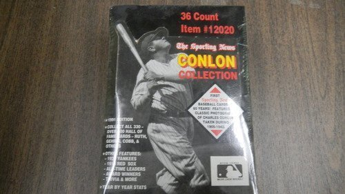 The Sporting News Conlon Collection 36 Count Item # 12020 1991 Edition Sport Cards by The Sporting News (1960 - 1984) -