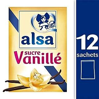 Alsa - Vanilla Sugar Sachet 90G - Sucre Vanillé Sachet 90G - Price Per Unit - Fast Delivery