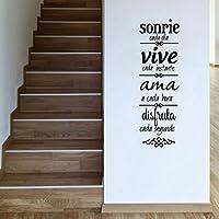 Pegatina cita inspiradora para dormitorios despachos 120 x 38 cm de OPEN BUY