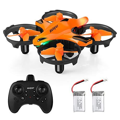 HELIFAR Mini Drone, H803 RC Drone con función de prevención de obstáculos por Infrarrojos, fácil de controlar con sensación de Gesto, Altitude Hold Quadcopter Regalo para niños (Dos baterias)