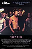 1art1 - Poster Fight Club - Brad Pitt, Film Review Collection (Scena del Combattimento), 91 x 61 cm