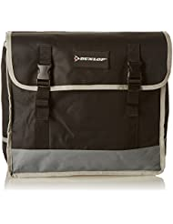 Dunlop Bicycle Bag, double PES, Black/Grey by Dunlop