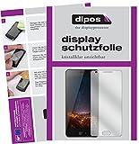 dipos I 2X Schutzfolie klar passend für Doogee X20 Folie Bildschirmschutzfolie