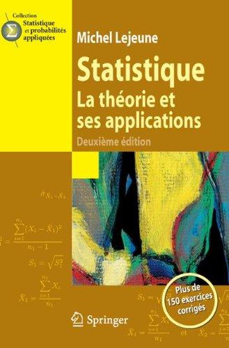 Statistique, La théorie et ses applications