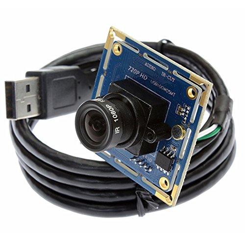 ELP Webcam 1,0 megapixel Hd Kostenloser Fahrer USB Kamera USB Kamera Modul Mjpeg 720p Kompatibel Linux Windows Mac Android
