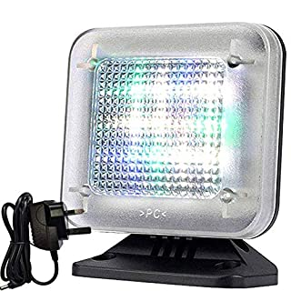 LED Fake TV Light Simulator Anti-Burglar - Home Security Theft Deterrent Devic with Timer and Light Sensor, USB Cable