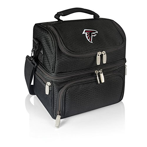 Picnic Time NFL Atlanta Falcons Pranzo Isolierte Lunch, schwarz, Einheitsgröße