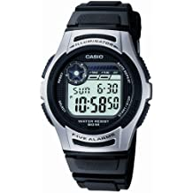 Casio Collection – Reloj Hombre Digital con Correa de Resina – W-213-1AVES