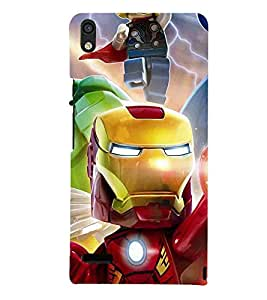 For Huawei Ascend P6 Cartoon, Black, Cartoon and Animation, Printed Designer Back Case Cover By CHAPLOOS