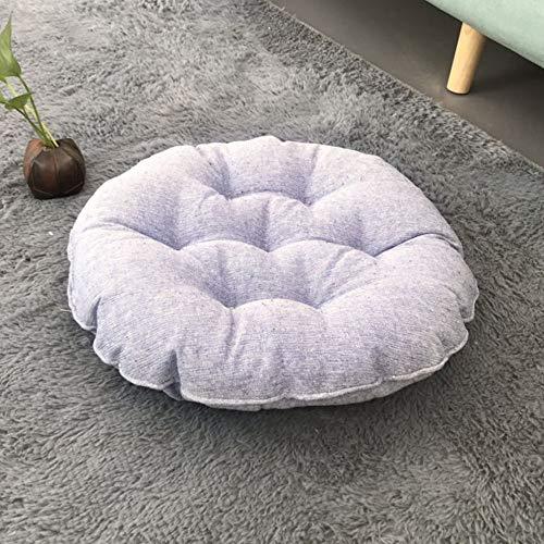 MARXHOT Runde verdicken Boden Kissen Indoor/Outdoor einfarbig Stuhl sitzkissen Tatami futon bucht Fenster pad Yoga Matte für wohnkultur (Durchmesser 45 cm),003 -