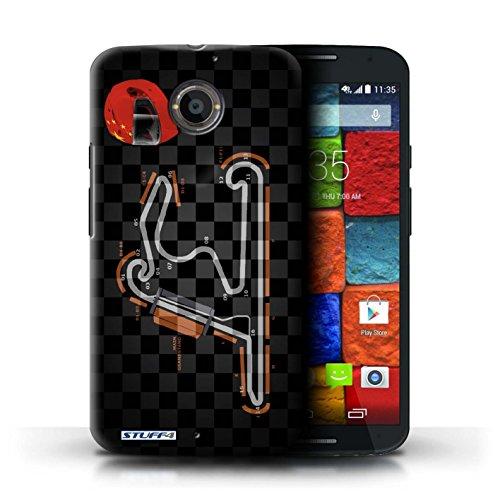 Kobalt® Imprimé Etui / Coque pour Motorola Moto X (2014) / USA/Austin conception / Série 2014 F1 Piste Chine/Shanghai