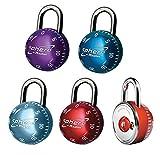 Master Lock 2076EURDAST Candado de Combinación Multicolor 50 mm