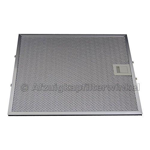 All Spares© metal Filtro de grasa Bosch/Siemens 353110/00353110/filtro de grasa rectangular metal...
