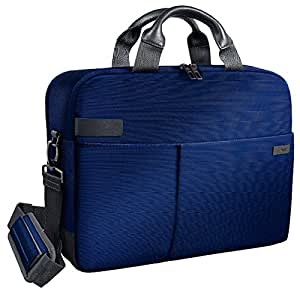 Leitz Business Laptop Tasche 15.6 Zoll, Geeignet für Laptop oder Ultrabook, Smart Traveller, Complete, Titan Blau, 60160069