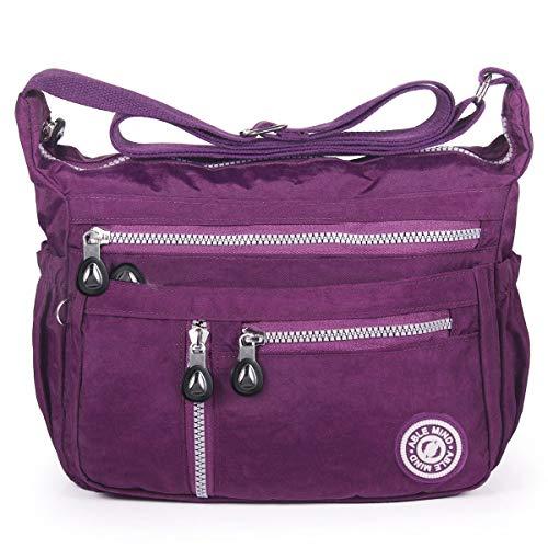 ABLE - Bolso Cruzados Mujer Morado 4-PurpleCustomized