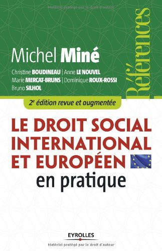 Le droit social international et europen en pratique