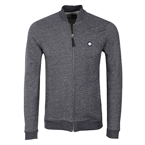 Pretty Green Herren Sweatshirt blau blau Navy