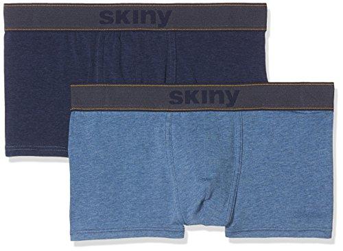 Skiny Herren Shorts Denim Selection Pant DP, 2er Pack, Mehrfarbig (Denim Selection 1162),  Preisvergleich