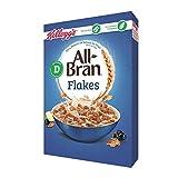 Kellogg's Cereales All Bran Flakes - 2 Paquetes de 500 gr - Total: 1000 gr