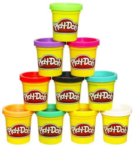Play-Doh Knete 2er Pack, 141g/Dose, verschiedene Farben wählbar (rot) Play-doh Rot