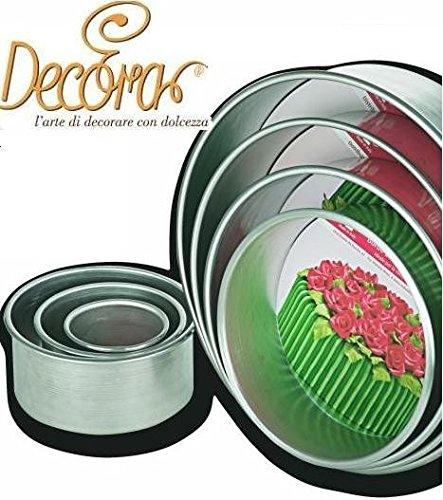decora-0062612-moule-professionnel-anodise-rond-aluminium-diametre-20-x-10-cm
