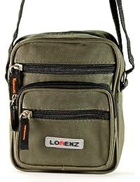 Lorenz - Bolso al hombro de lona para hombre