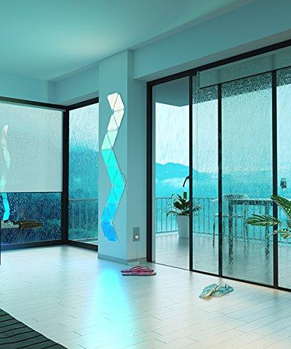 nanoleaf Aurora – 9x Modulare Smarte LED – Lichtpanels mit App Steuerung - 8