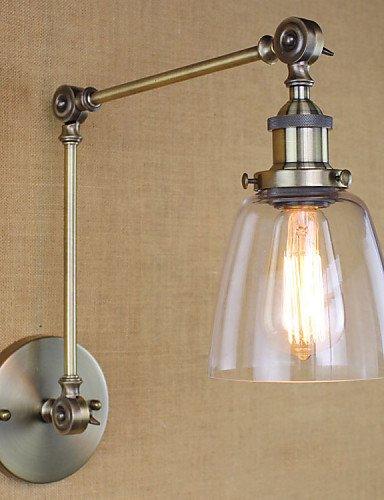 Goud lampada da parete lampade a candela da parete lampadina inclusa rustico/lodge metallo , 220v