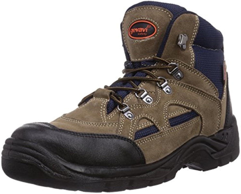 Gevavi Worker S1P WERKSCH HG - Zapatos De Seguridad de Piel Unisex Adulto
