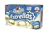 Principe Estrellas Galletas con Chocolate Blanco Relleno De Crema - 150 g