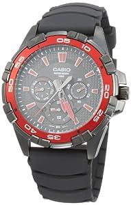 Casio MTD1069B1A2 - Reloj de Caballero caucho Rojo de Casio