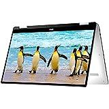 Dell 9365-4537 33,78 cm (13,3 Zoll) Hybrid Notebook (2-in-1) (Intel Core i5-7Y54, 8GB RAM, Win 10 Home) schwarz/silber