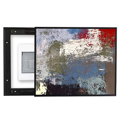 LITING Scatola del contatore Elettrico Pittura Decorativa Push-Pull Block Scatola di distribuzione elettrica Pittura murale Scatola di Alimentazione Pittura Semplice